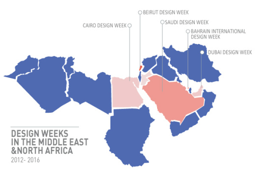 design weeks in the middle east & north africa