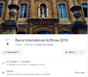 Beirut International ArtShow 2018